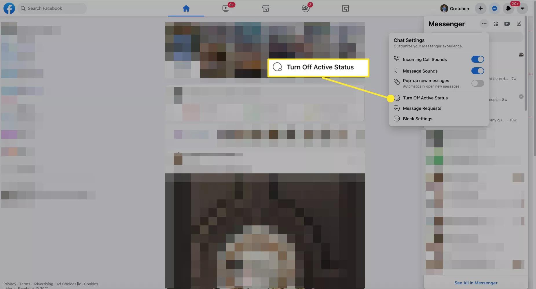 Tắt trạng thái online trên Facebook bằng 3 cách nhanh gọn