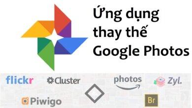 ung dung thay the google photos