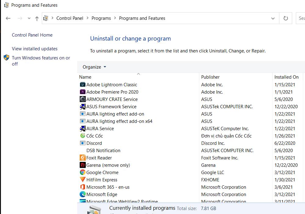 Control Panel là gì? Những tính năng cơ bản bạn cần biết khi sử dụng máy tính Windows 20