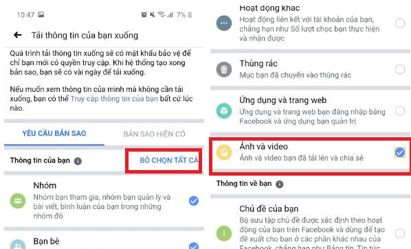 Hướng dẫn cách xóa ảnh đại diện trên Facebook. Cứu cánh khi chưa kịp chỉnh filter đã đăng hình 3