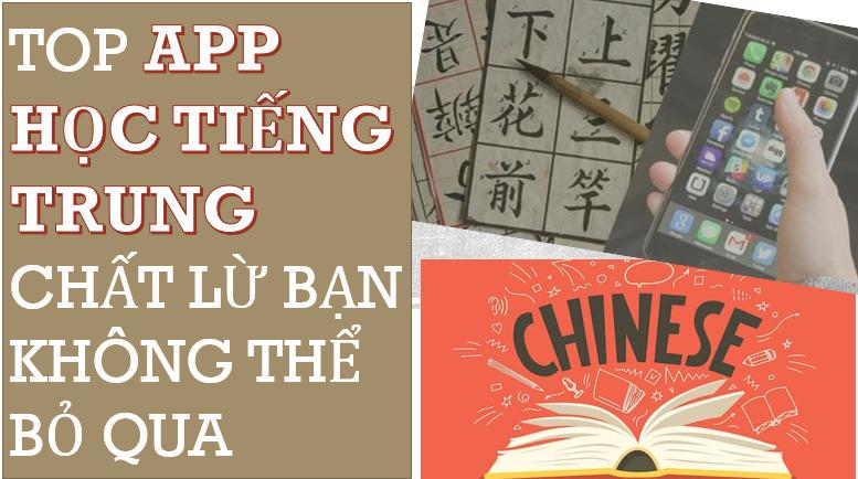 Top 5 app học tiếng Trung bạn không thể bỏ qua trong năm 2021
