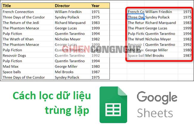 3 cách lọc dữ liệu trùng trong Google Sheet. Thử ngay cách làm siêu ngầu của lập trình viên