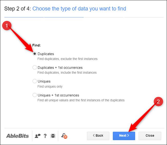 cach loc du lieu trung trong google sheet 09