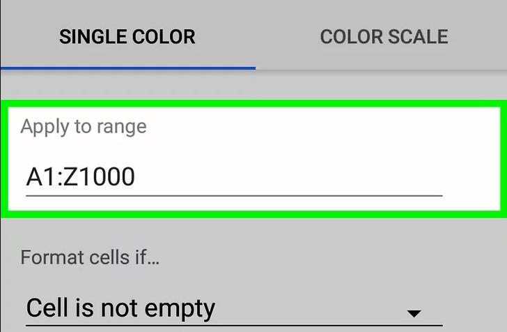 cach to mau xen ke trong Google Sheet 04