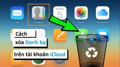 Hướng dẫn chi tiết cách xoá danh bạ trên iCloud nhanh chóng 1