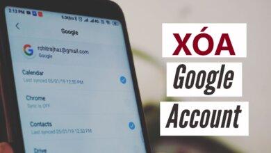 Tổng hợp cách xóa tài khoản Google trên điện thoại dành cho iOS và Android 10