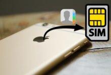Có cách chuyển danh bạ từ iPhone sang SIM không? Câu trả lời có ngay sau đây 8