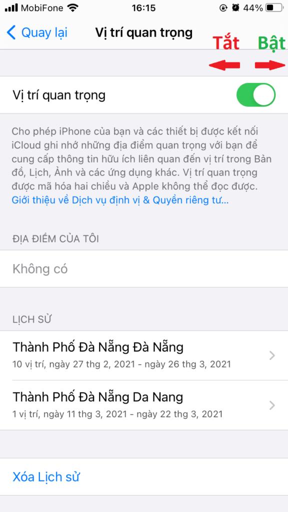 lich su vi tri iPhone 05