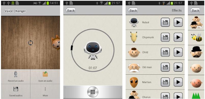 App chỉnh giọng - Voice Changer