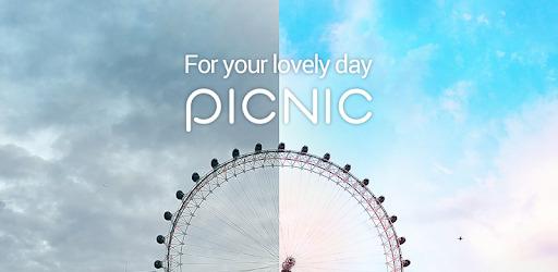 App chỉnh mây - PICNIC