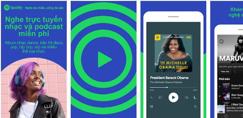 App nghe nhạc-Spotify