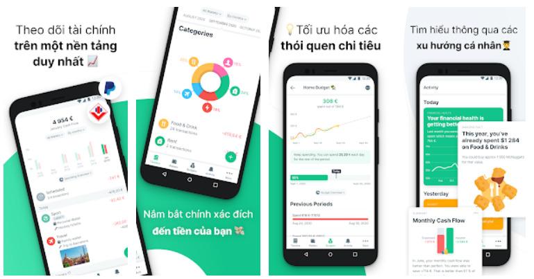 App quản lý chi tiêu - Spendee