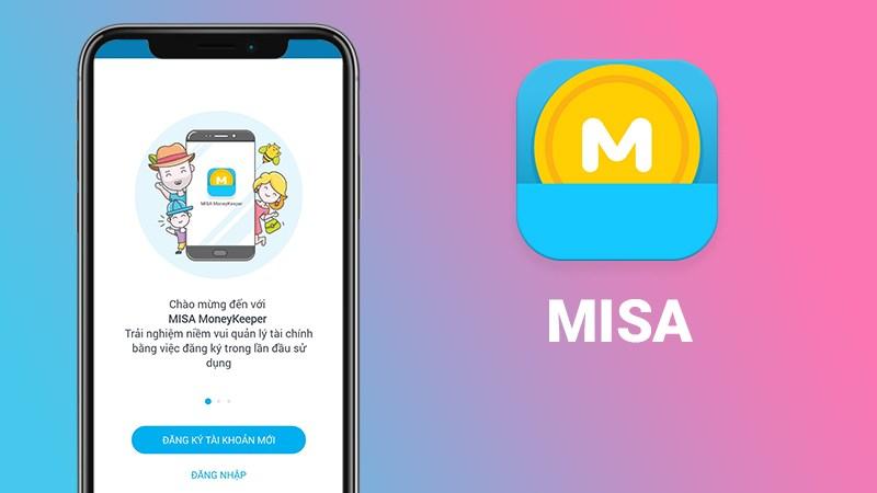 App quản lý chi tiêu - Misa Money Keeper
