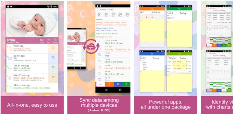 App theo dõi bé-Baby Tracker