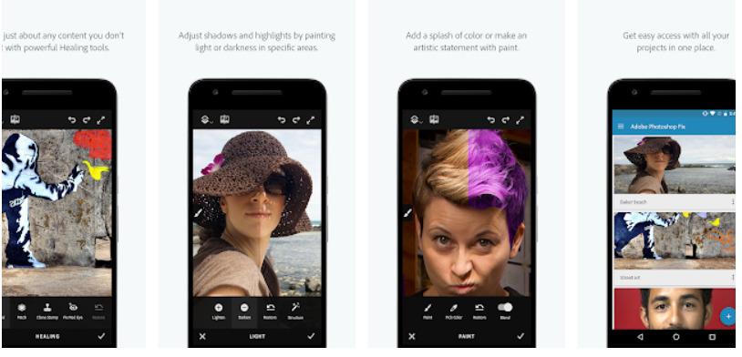 App xóa người-Adobe Photo Fix