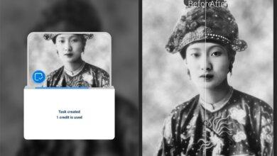 App khôi phục ảnh cũ. Công cụ vi diệu mang quá khứ trở nên rõ ràng và sắc nét 9