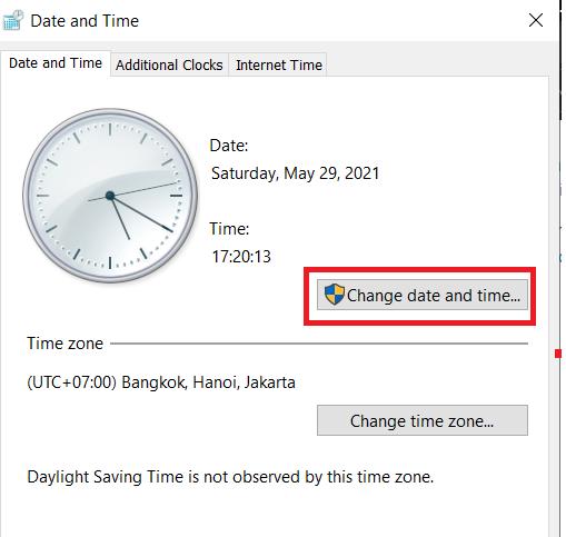 Cài đặt hiển thị ngày giờ trên Desktop Win 10