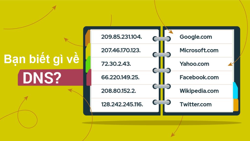 Bạn có biết DNS là gì không? Khám phá sự thật đằng sau thế giới internet thông qua DNS