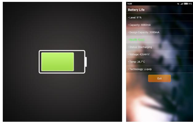 Kiểm tra độ chai pin Android bằng Battery Life
