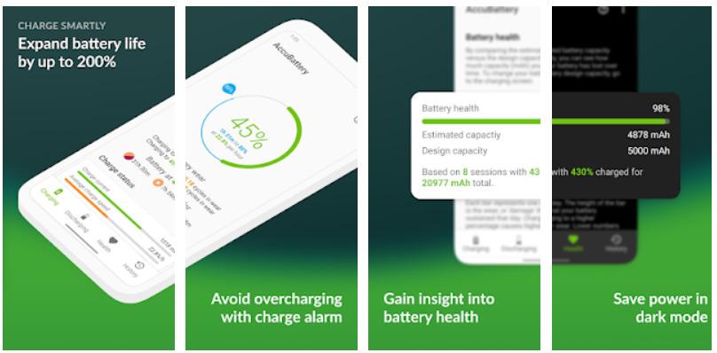 Kiểm tra độ chai pin Android bằng AccuBattery