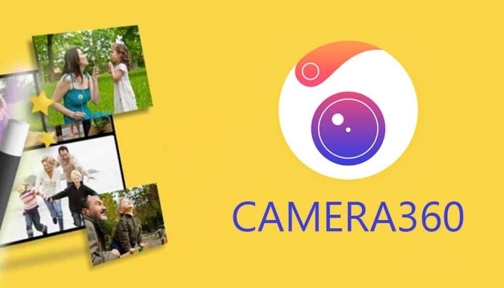App chụp ảnh đẹp iPhone-Camera 360