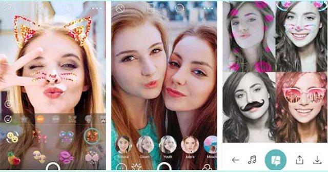 App chụp ảnh đẹp iPhone-B612
