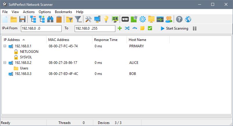 Phần mềm chặn WiFi trên PC - Softperfect Network
