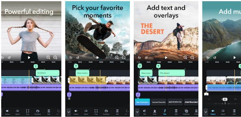 Phần mềm chỉnh sửa video trên điện thoại-Splice
