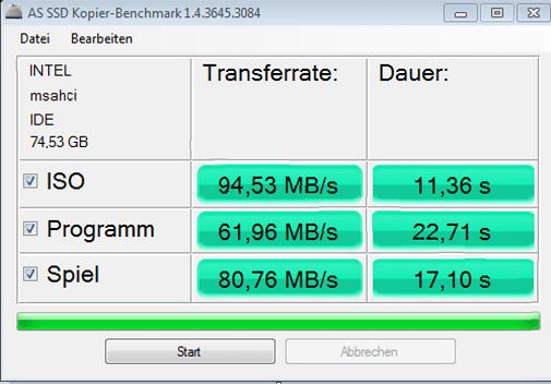 Phần mềm test tốc độ ổ cứng-AS SSD Benchmark
