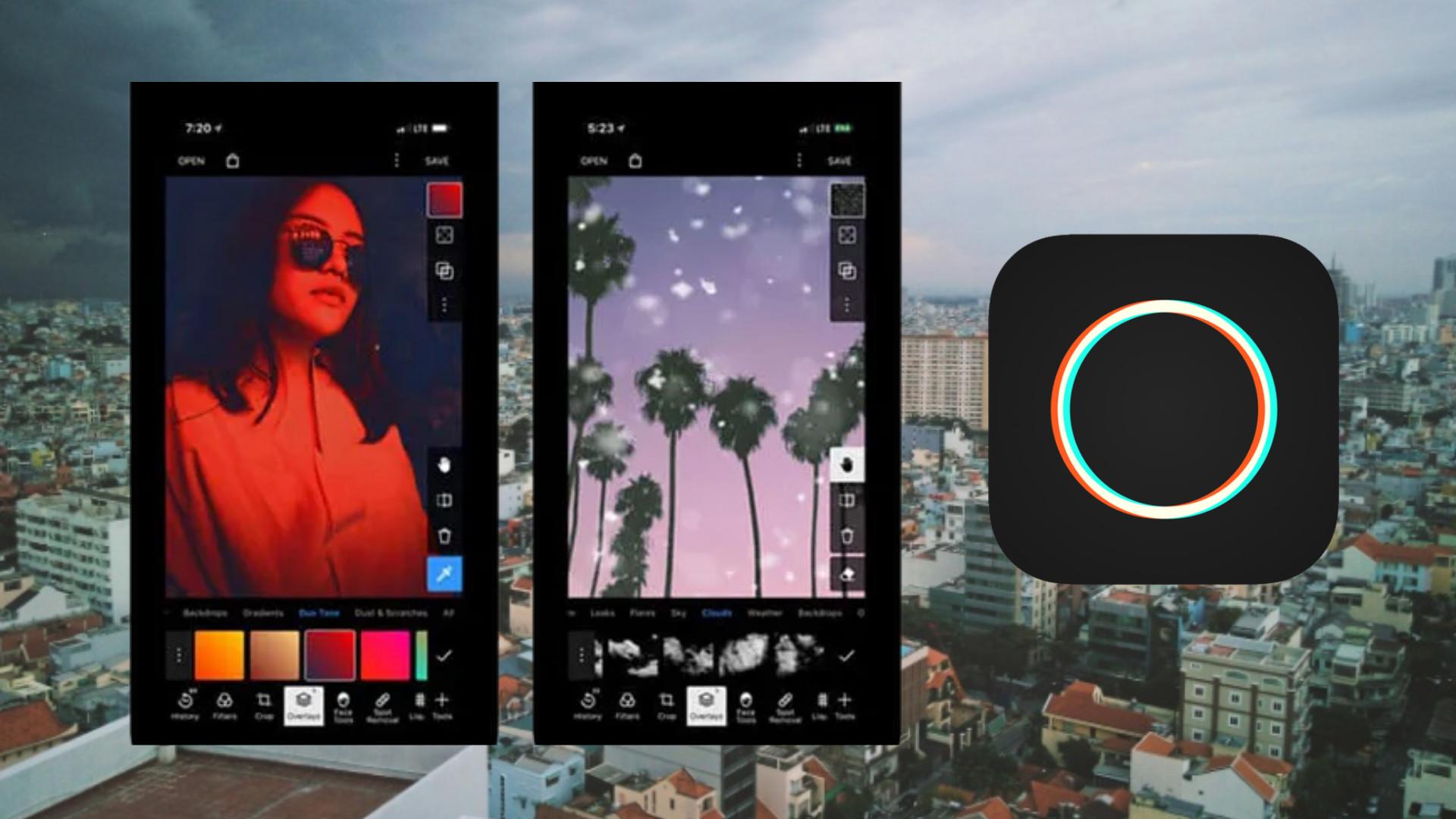 App chụp ảnh đẹp - Polarr