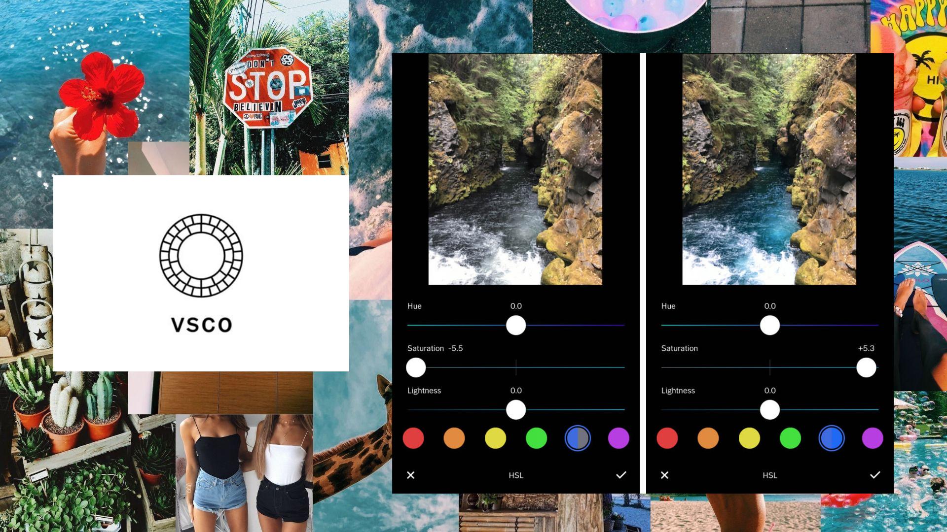 App chụp ảnh đẹp chuyên nghiệp - VSCO
