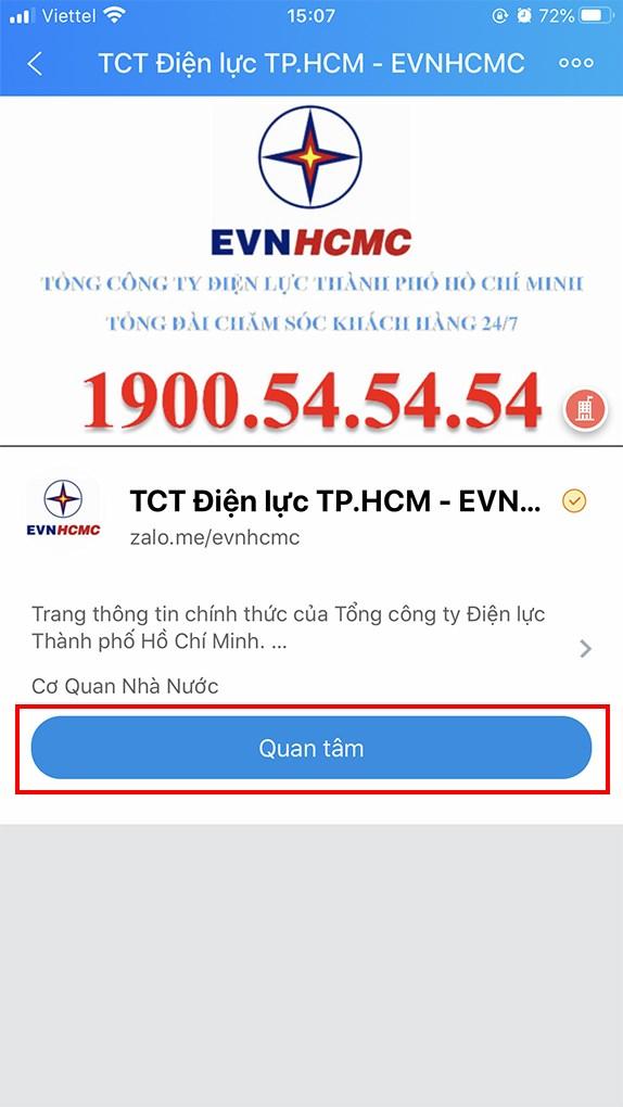 Tra cứu tiền điện theo mã khách hàng - 07