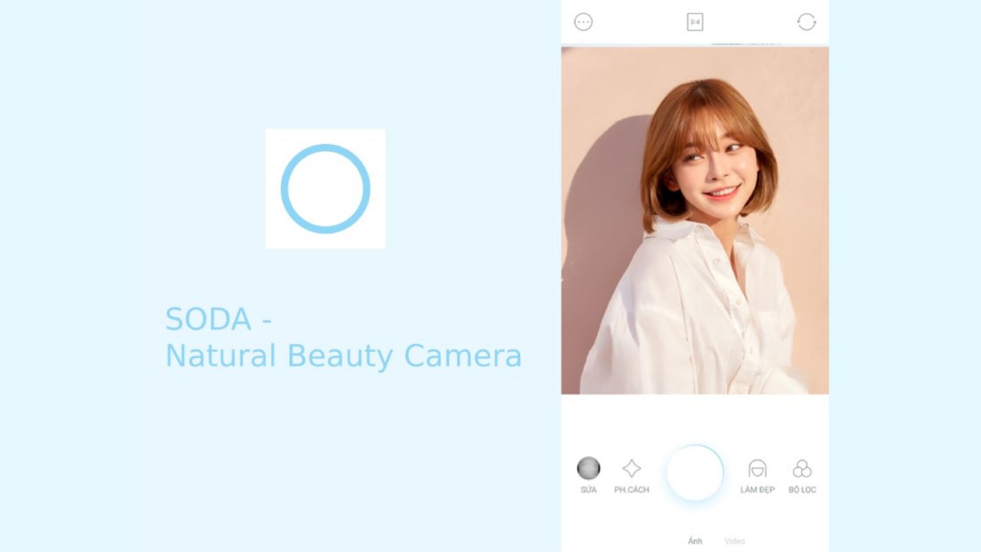 App chụp hình đẹp Hàn Quốc - SODA