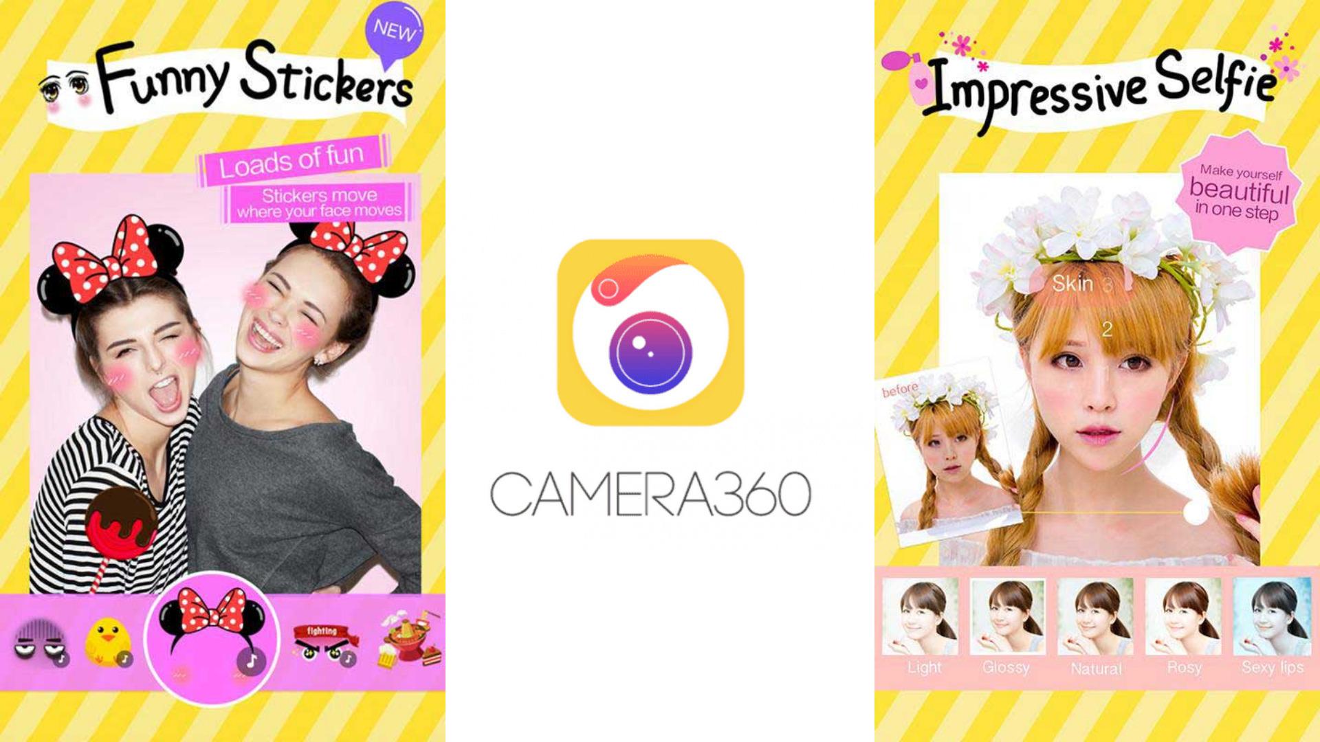 App chụp ảnh đẹp - Camera360
