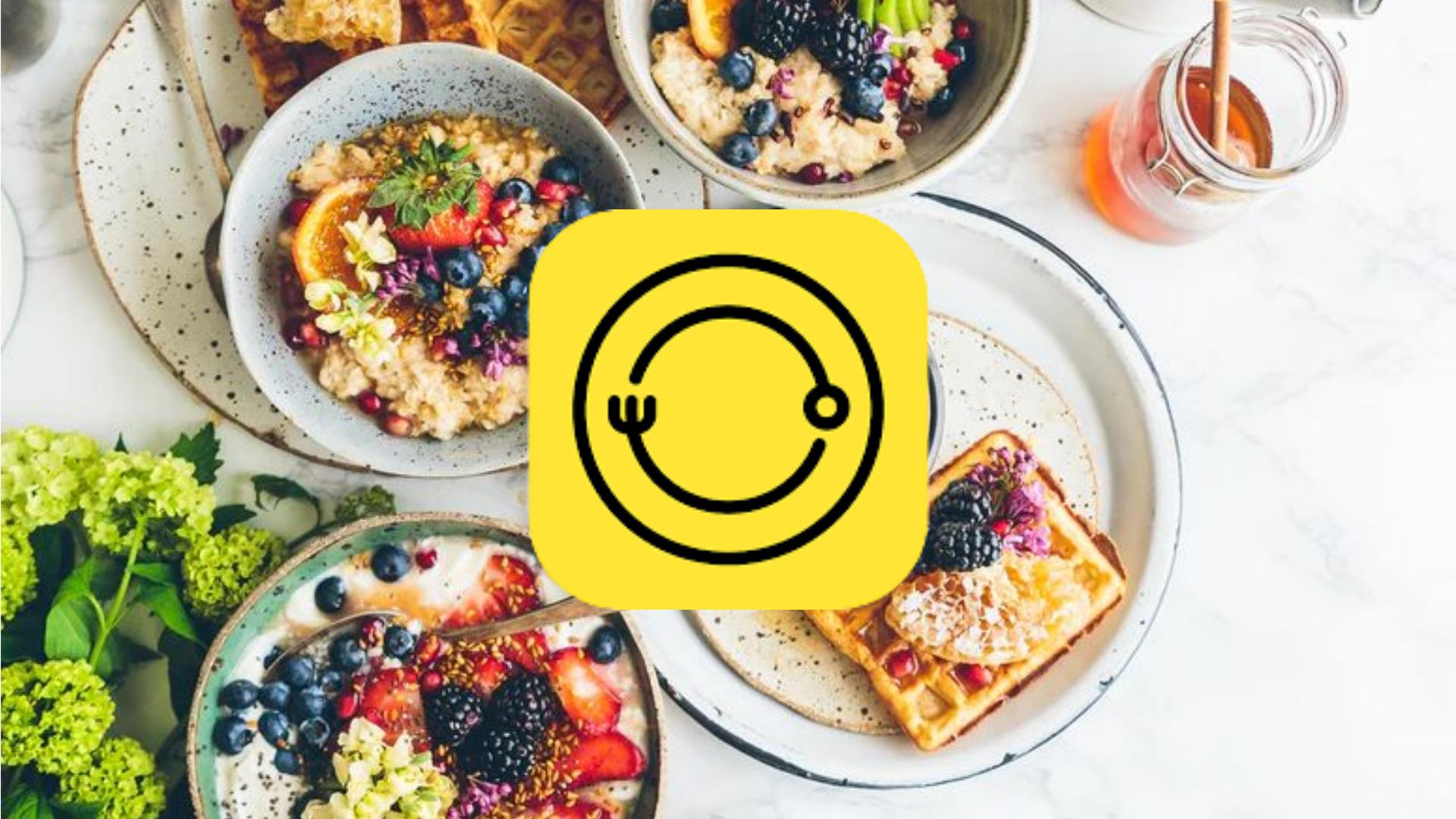 App chụp hình đồ ăn đẹp - Foodie