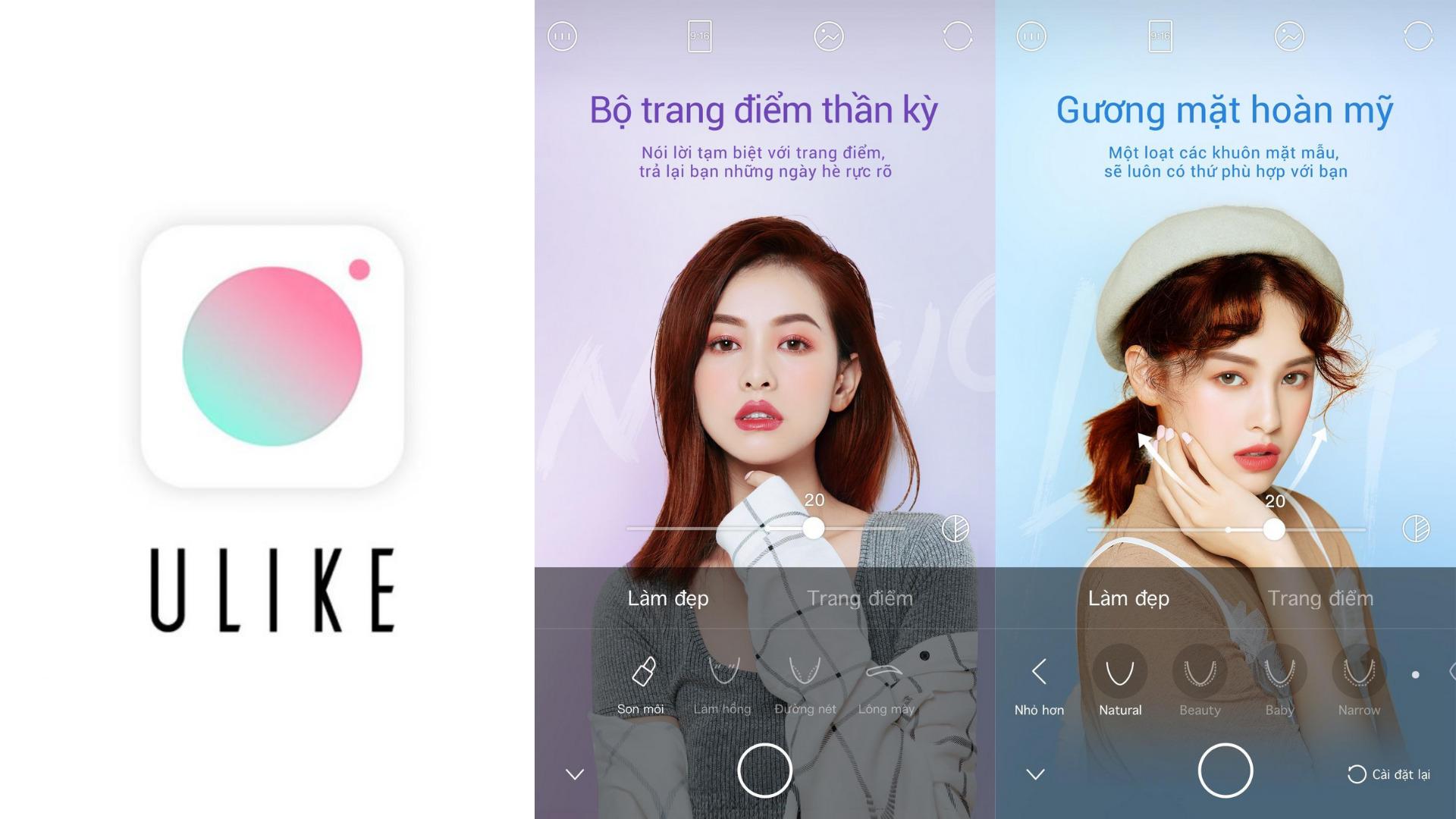 App chụp ảnh đẹp - Ulike
