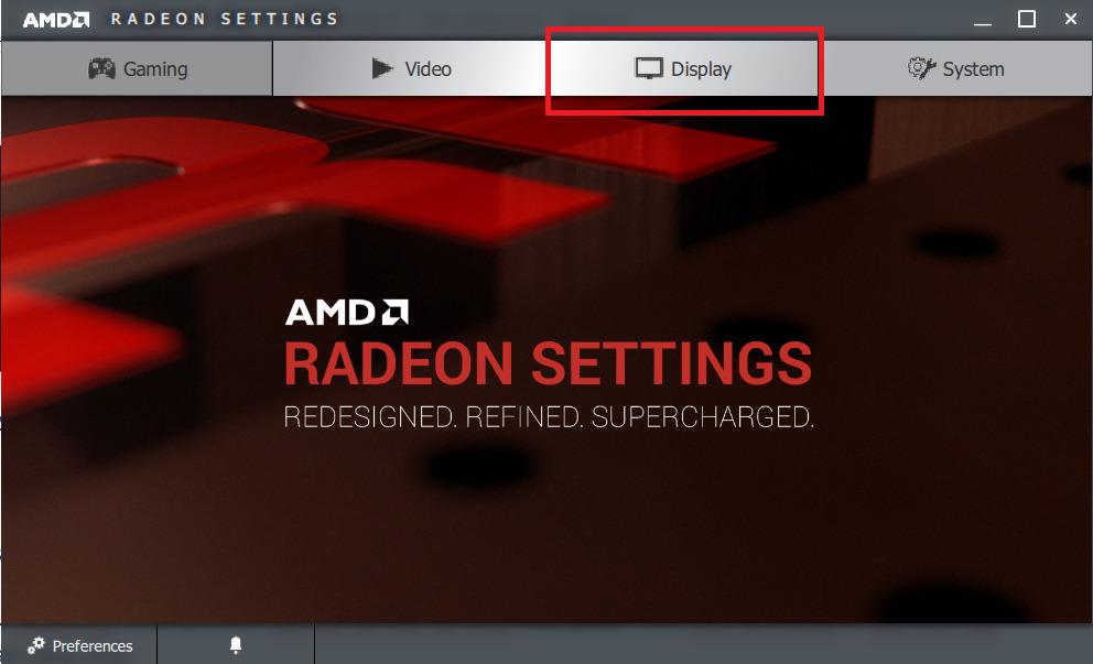 Chỉnh full màn hình Win 10 với chip AMD