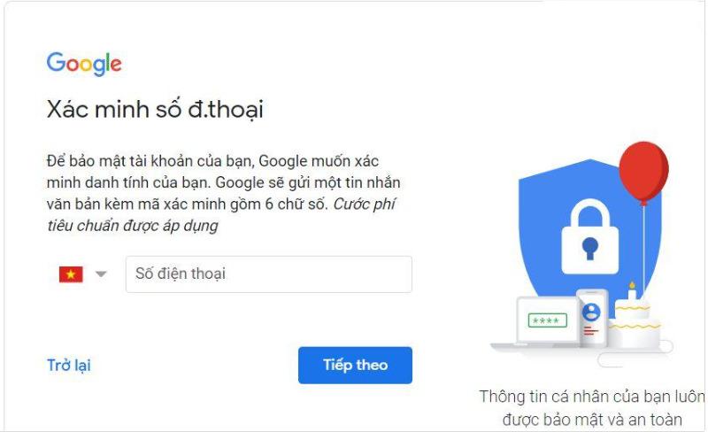 Tạo tài khoản Google Classroom