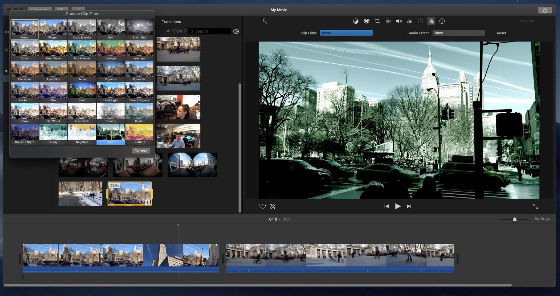 phần mềm cắt ghép video miễn phí