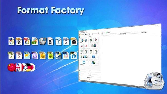 Phần mềm đổi đuôi video - Format Factory