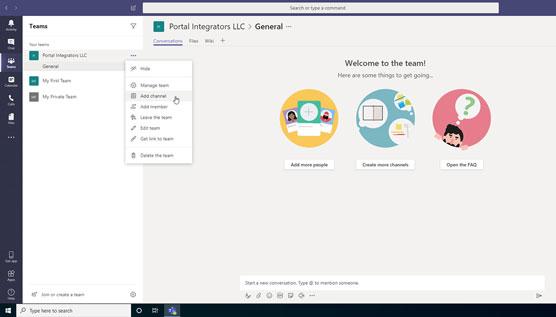Microsoft teams là gì