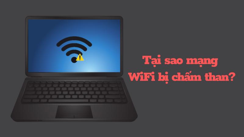 WiFi bị chấm than