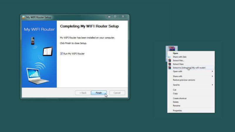 Phần mềm phát WiFi