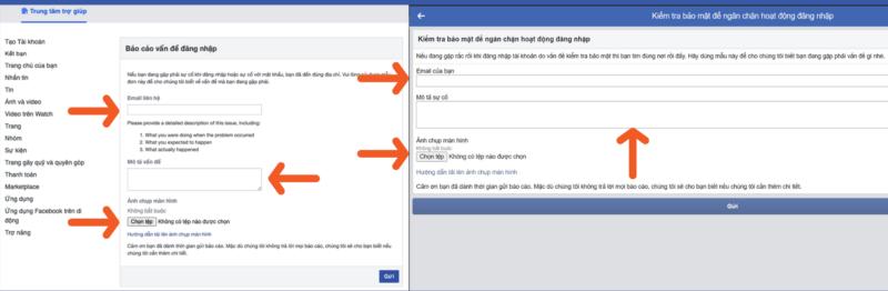 Cách lấy lại Facebook