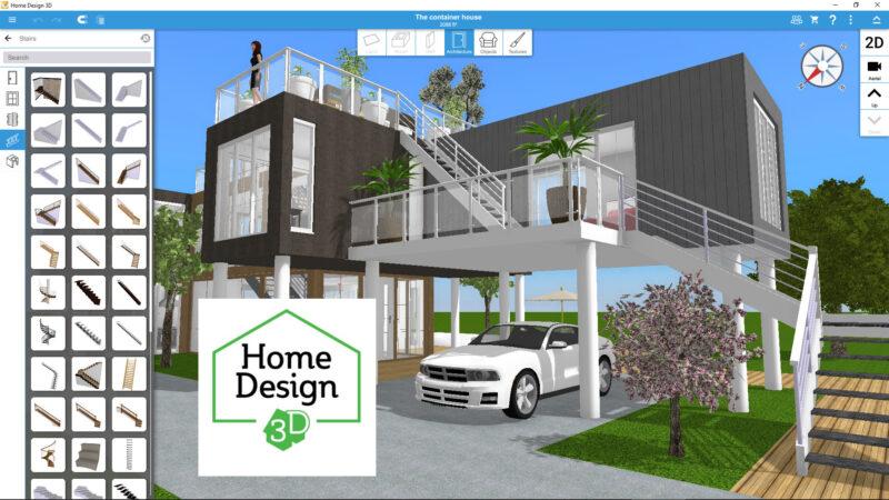 Phần mềm thiết kế nhà 3D
