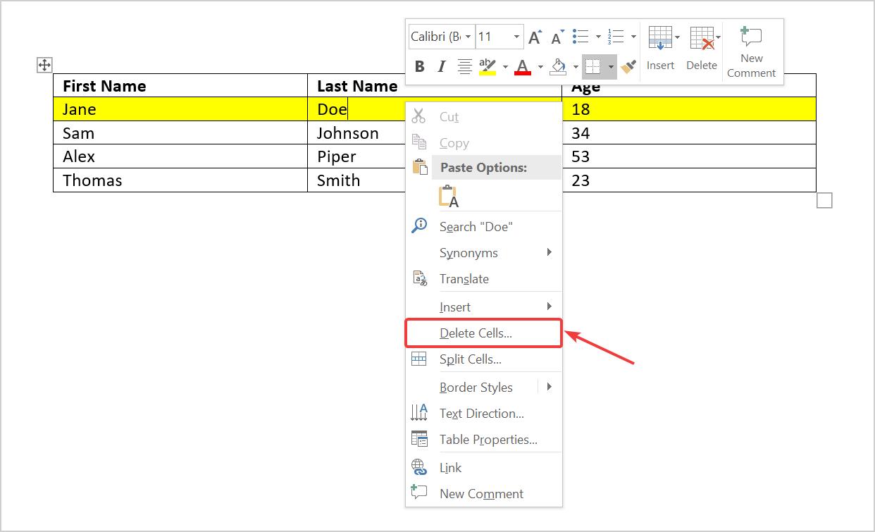 Đầy đủ các cách tạo bảng trong Word mà bạn cần biết 6