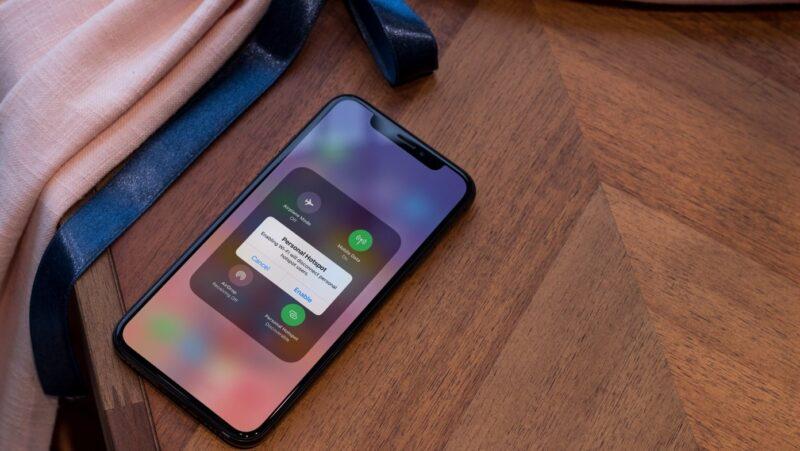 cách phát WiFi trên iPhone