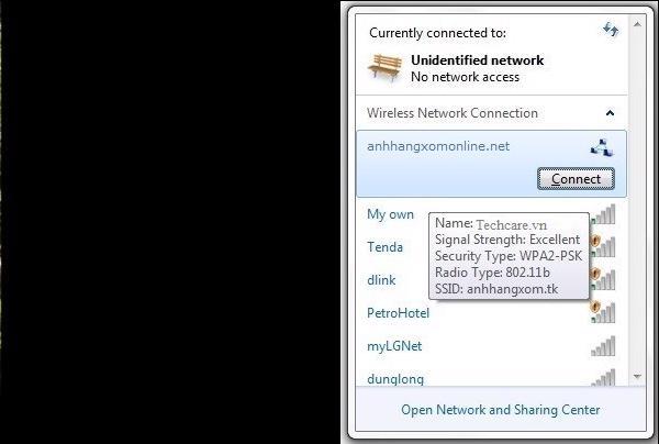 cách kết nối 2 máy tính với nhau qua WiFi