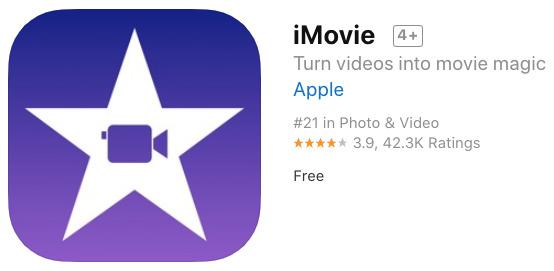 phần mềm edit video trên iphone