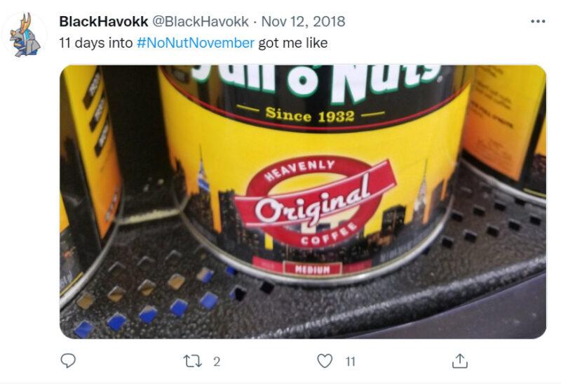 No Nut November là gì